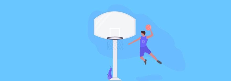 Обложка: Задача про вероятность попадания баскетбольного мяча в корзину