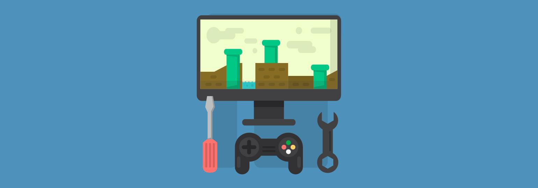 Логотип «Разработка игр и работа с графикой — с чего лучше начинать и на что обратить внимание»