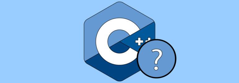 Обложка: Что не так в этом отрывке кода на С++?