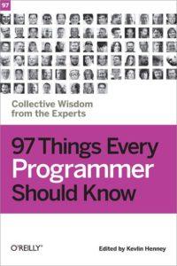 Обложка книги «97 Things Every Programmer Should Know»