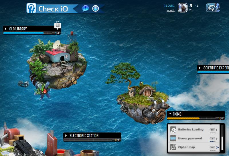 скриншот игры Check iO
