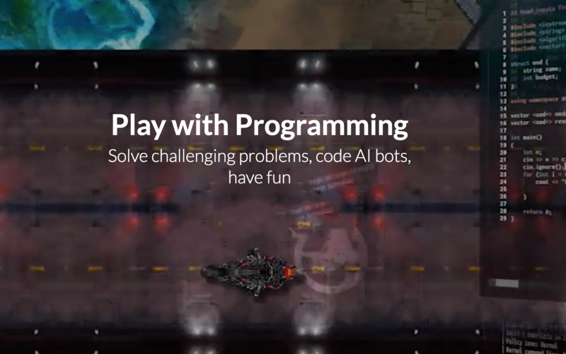 скриншот игры CodinGame