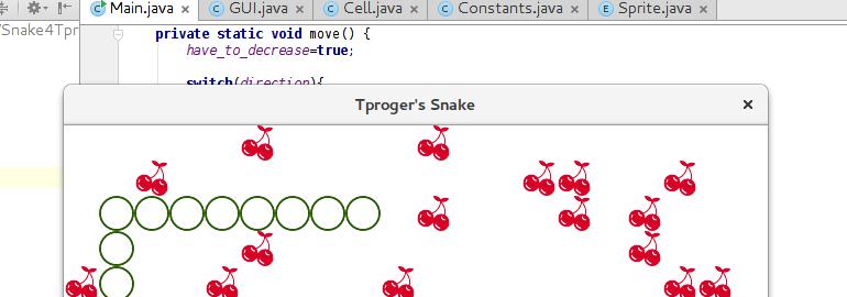 Обложка: Как написать свою змейку на Java за 15 минут