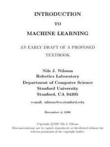 Обложка книги «Introduction To Machine Learning»