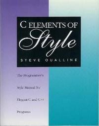 Обложка книги «C Elements of Style»