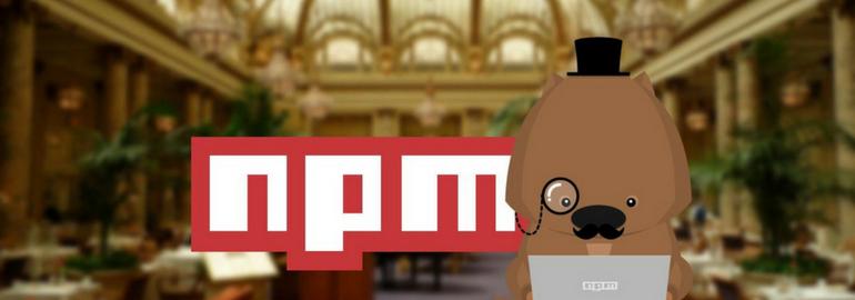 менеджер пакетов npm