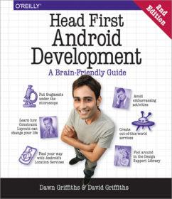 Обложка книги «Head First. Программирование для Android»