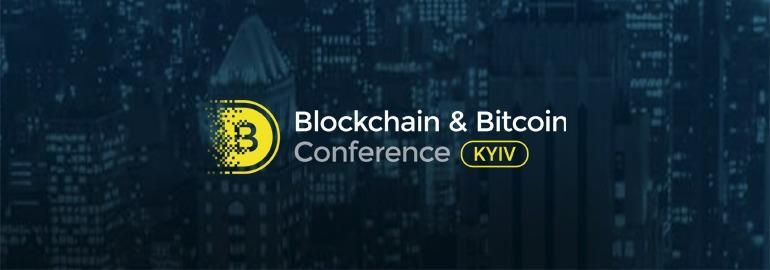 логотип blockchain & bitcoin conference kiyv