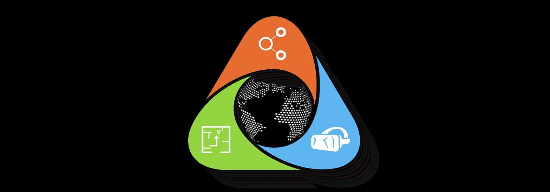 Логотип «27 апреля в Новосибирске пройдёт конференция SmartGeo VR/AR 2018»