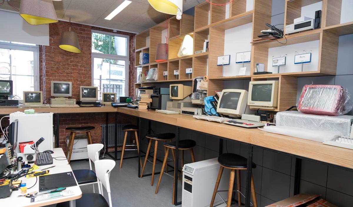 Музей компьютерной техники в «Яндексе»
