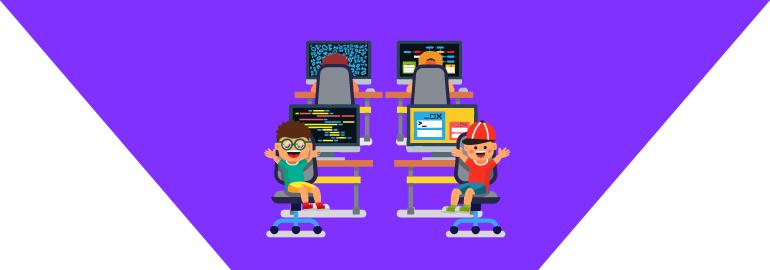 Обложка: Как научить ребёнка программировать