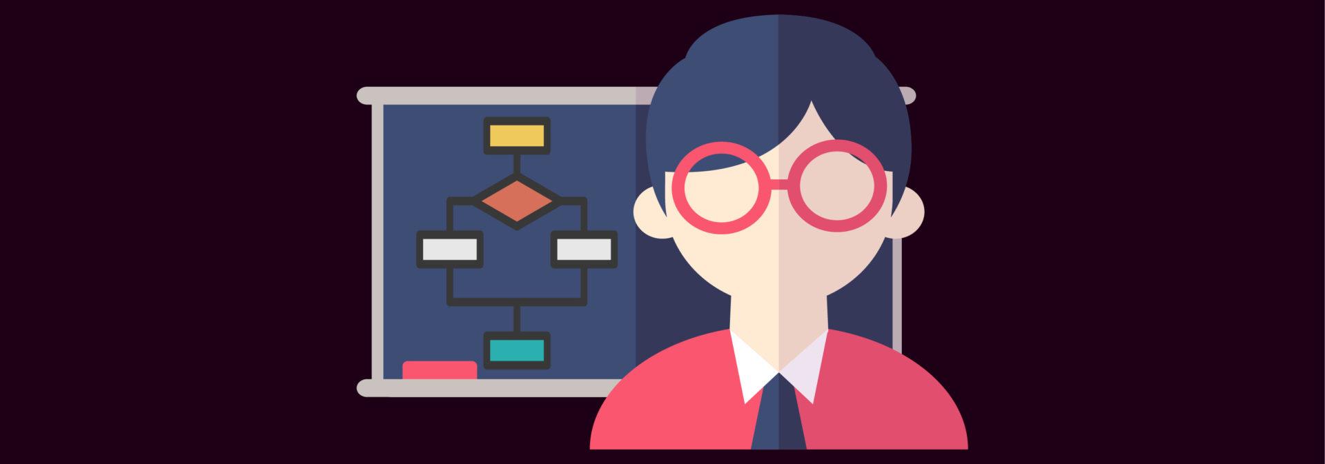 Логотип «Как лучше всего изучать алгоритмы»