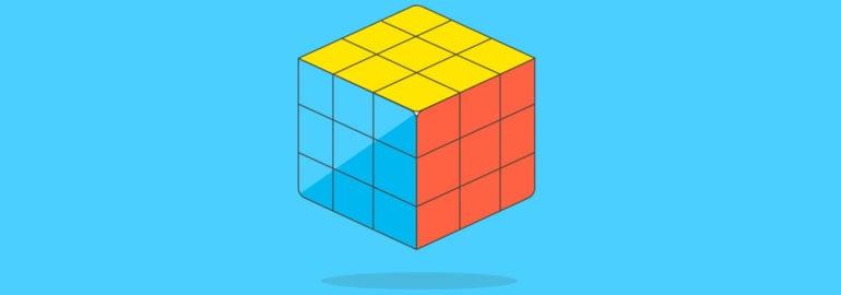 Обложка: Собираем кубик Рубика без полного перебора решений