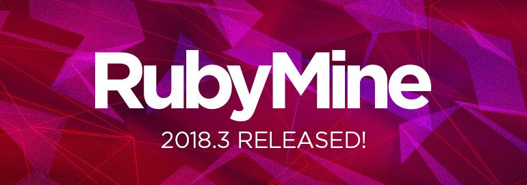 RubyMine 2018.3