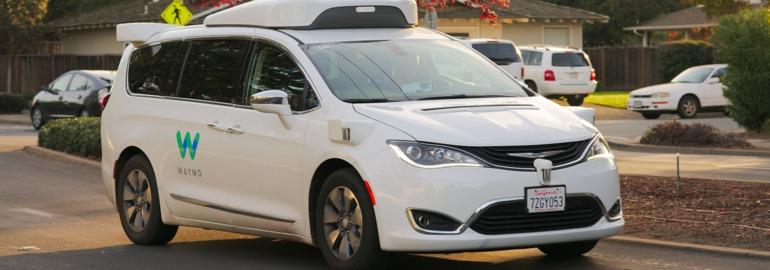 Waymo беспилотный автомобиль