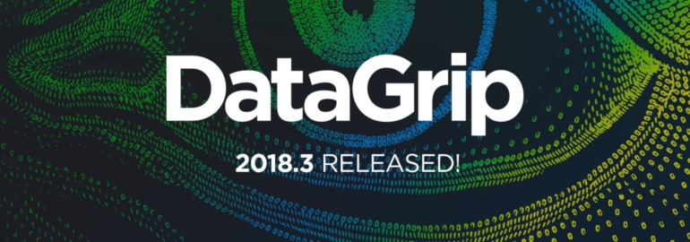 DataGrip 2018.3