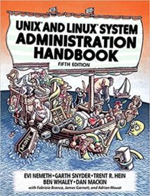 Обложка книги «UNIX and Linux System Administration Handbook»