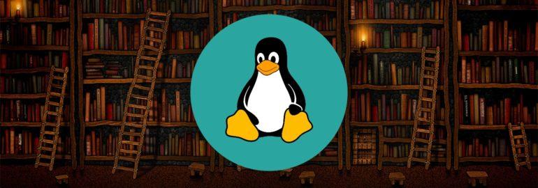 Обложка для подборки книг по Linux