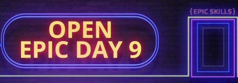 Epic Open Day 9 митап