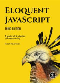 Обложка книги «Eloquent JavaScript»