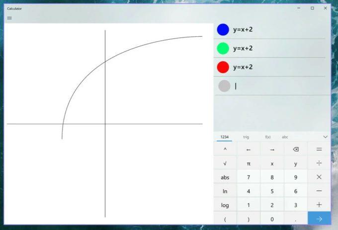 графики в калькуляторе