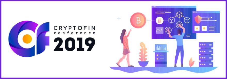 Обложка: Конференция CryptoFin 2019