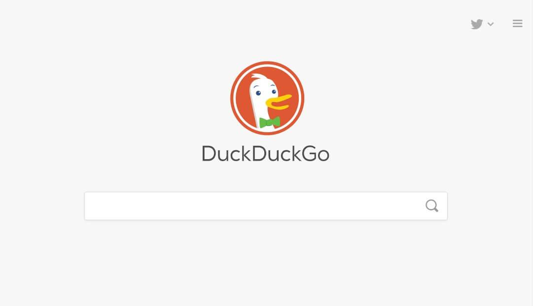 Замена Google Поиск - DuckDuckGo