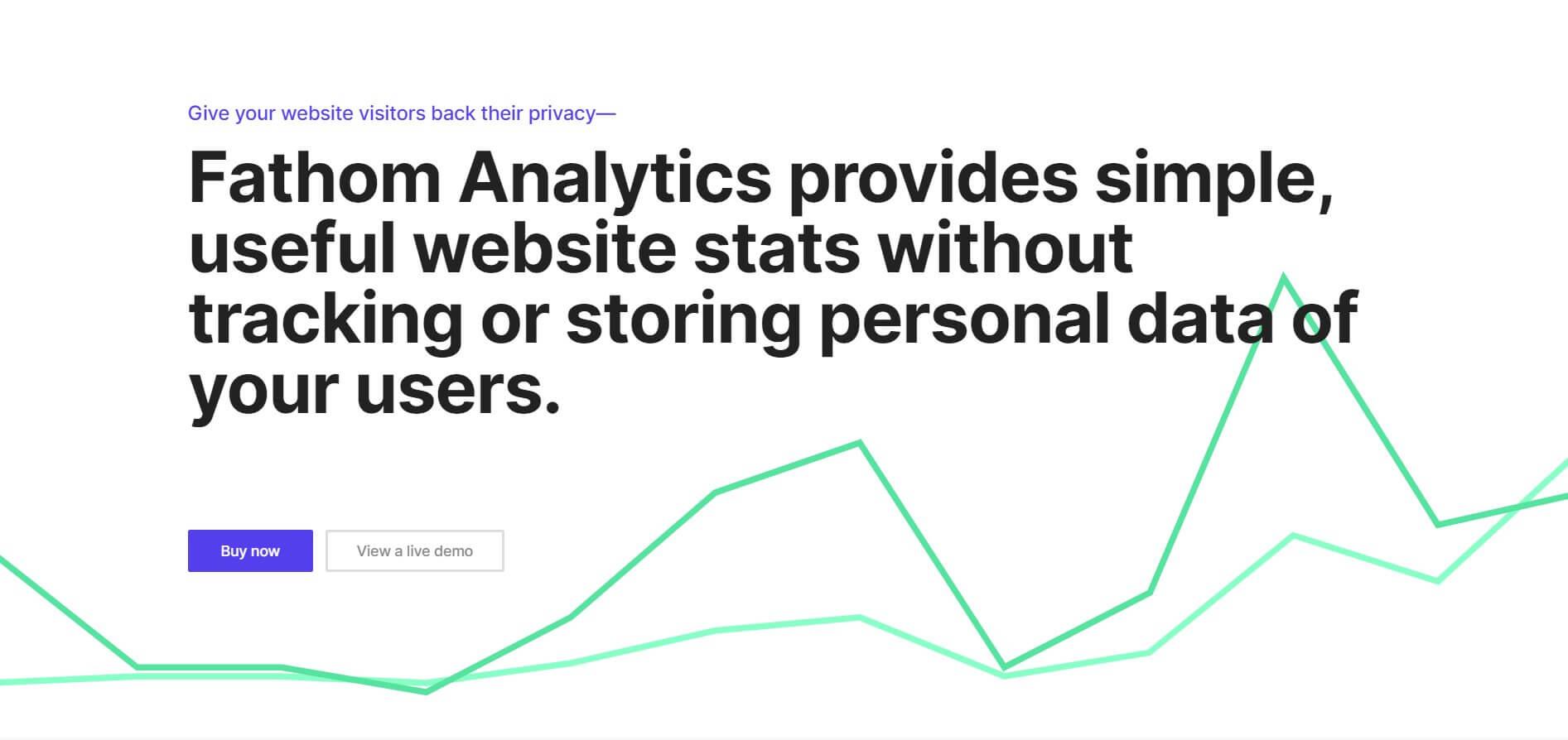 Замена Google Analytics - Fathom Analytics
