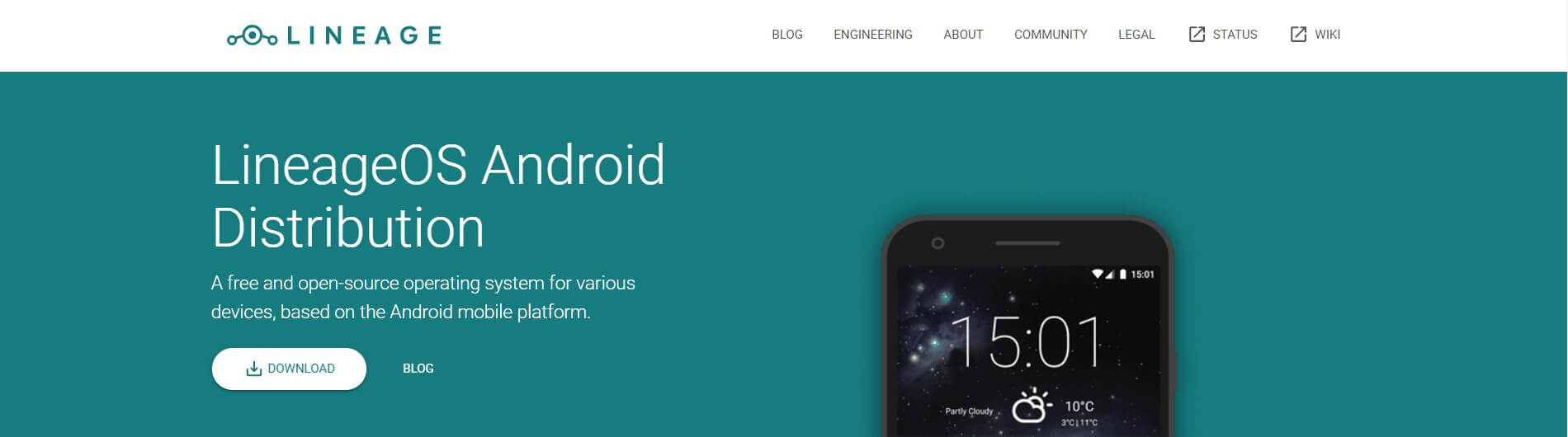 Замена Android - LineageOS