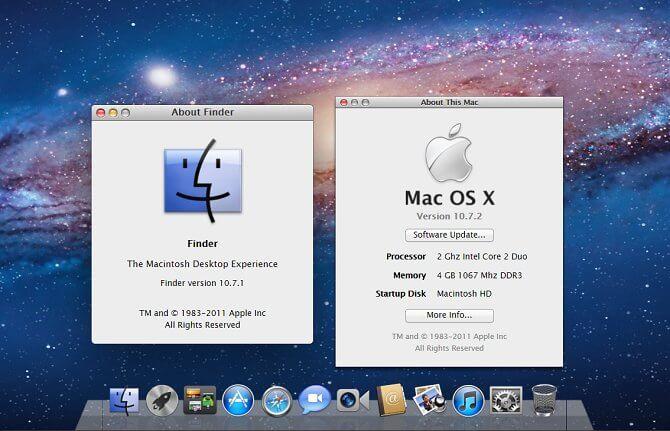 Операционная система Mac Lion