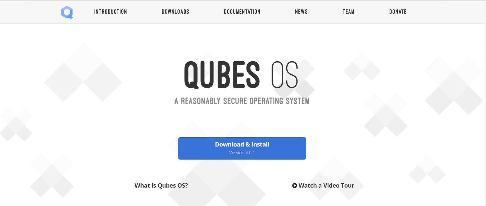 Замена Google Chrome OS - Qubes OS