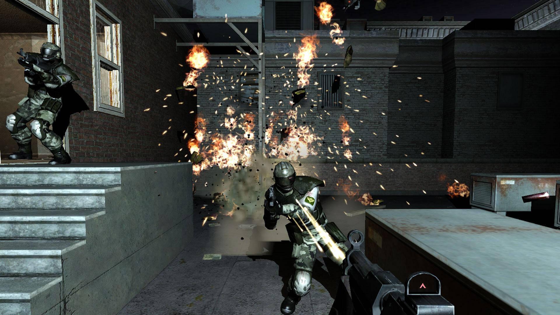 Кадр из игры F.E.A.R.