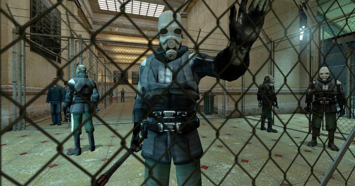 Спецназовцы в Half-Life 2