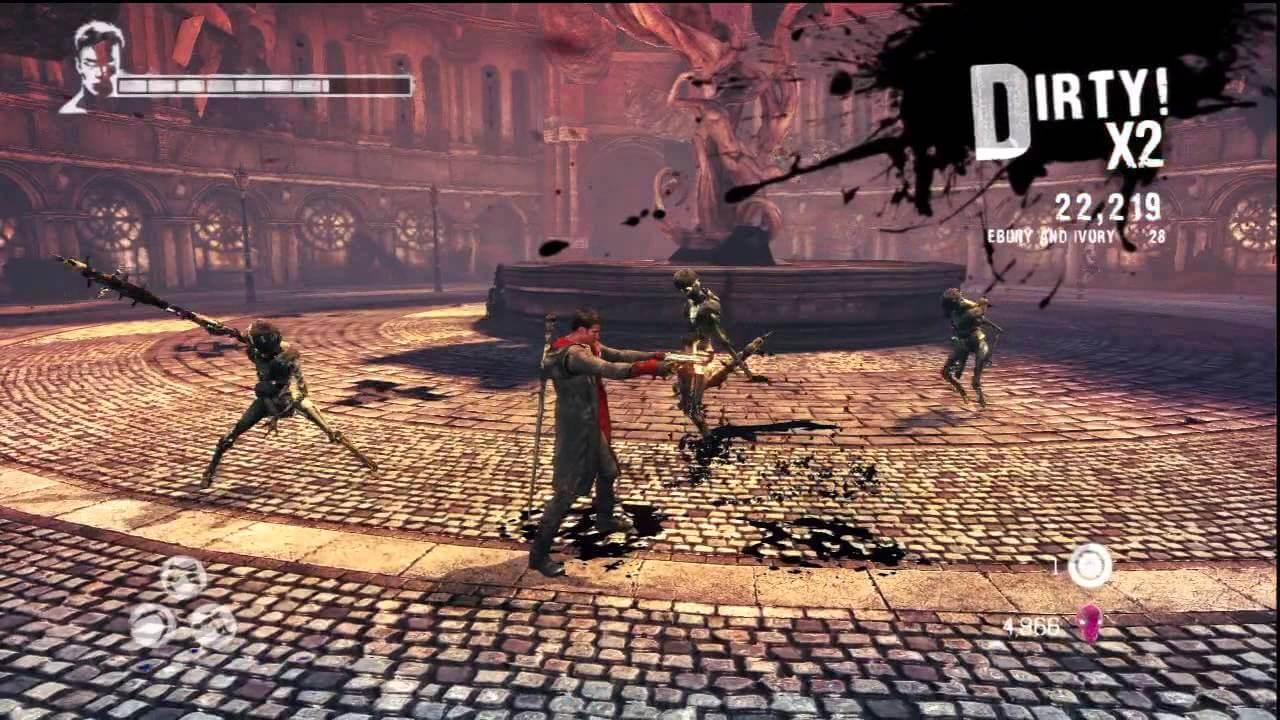 Кадр из игры DMC