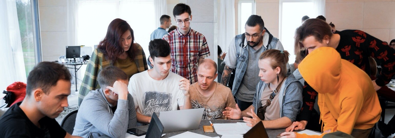 Логотип «Обучение Java-разработке с оплатой после трудоустройства»