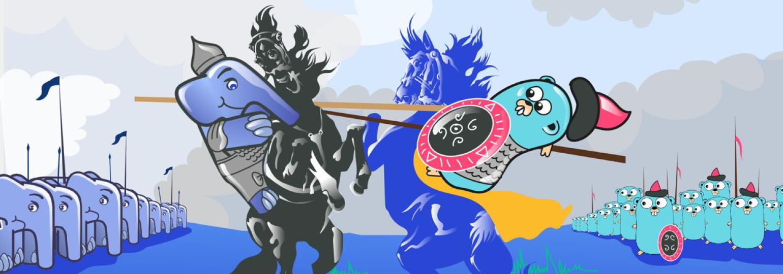 Логотип «Виртуальный PHP-митап»