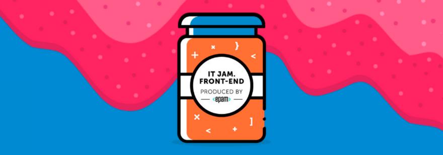 Обложка: Митап «IT Jam. Front-end»