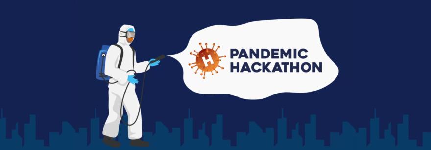Обложка: Онлайн-конкурс проектов Pandemic Hackathon