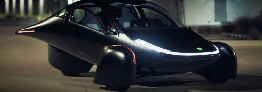 Обложка: В США представили электромобиль на солнечных батареях