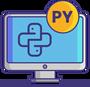 Обложка: 12 проектов на Python для новичков: трёхчасовой видеокурс